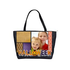 Halloween By Joely   Classic Shoulder Handbag   Rdjx8377q852   Www Artscow Com Front