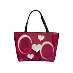 I Heart You Pink Classic Shoulder Bag By Ellan   Classic Shoulder Handbag   Zfdilar1j51e   Www Artscow Com Front