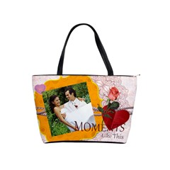 Moments Like This By Joely   Classic Shoulder Handbag   5sfwle48njon   Www Artscow Com Front