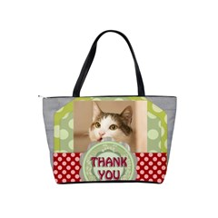 Thank You By Joely   Classic Shoulder Handbag   8we8jaojsied   Www Artscow Com Back