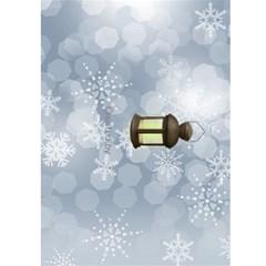 Happy New Year Greeting 5x7 Card (teal) By Deborah   Greeting Card 5  X 7    N6jvp8bm4gy3   Www Artscow Com Back Cover