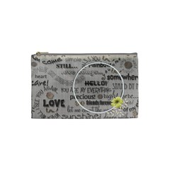 Love   Cosmetic Bag   Small By Angel   Cosmetic Bag (small)   A9xn6gcjzkl6   Www Artscow Com Front