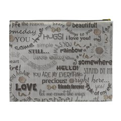 Love   Cosmetic Bag   Xl By Angel   Cosmetic Bag (xl)   Hzbmuyizrcbh   Www Artscow Com Back
