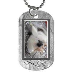 Gerlinde Tag001 By Nicole   Dog Tag (two Sides)   Fw7uy96rf72r   Www Artscow Com Front