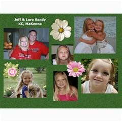 2012 Sandy Family Calendar By Jill Coston   Wall Calendar 11  X 8 5  (12 Months)   Pqp4syi0rdla   Www Artscow Com Month