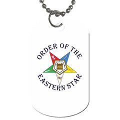 OES Lettered Dog Tag (One Side) from ArtsNow.com Front