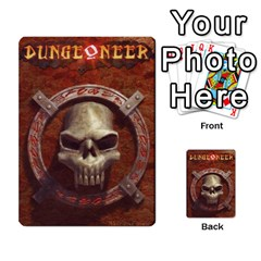 Dungeoneer 1 By Jr   Playing Cards 54 Designs   Ajyjhm13ywmp   Www Artscow Com Back