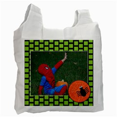 Trick Or Treating Bag 2011 By Angela Anos   Recycle Bag (two Side)   Tmz28knr294k   Www Artscow Com Front