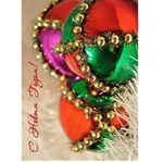 5x7 Cristmas Decor-rus - Greeting Card 5  x 7