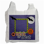 Recycle Bag (One Side): Halloween2