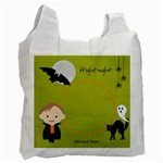 Recycle Bag (One Side): Halloween11