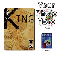 King Tzip Cards By Esti Kaufman   Playing Cards 54 Designs   Qovyzxgs84og   Www Artscow Com Front - SpadeK
