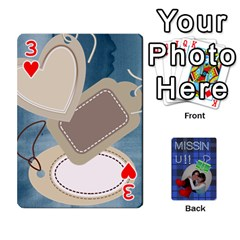 Tzip Cards By Esti Kaufman   Playing Cards 54 Designs   Qovyzxgs84og   Www Artscow Com Front - Heart3