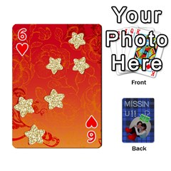 Tzip Cards By Esti Kaufman   Playing Cards 54 Designs   Qovyzxgs84og   Www Artscow Com Front - Heart6