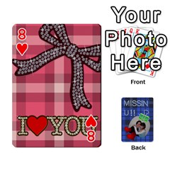 Tzip Cards By Esti Kaufman   Playing Cards 54 Designs   Qovyzxgs84og   Www Artscow Com Front - Heart8