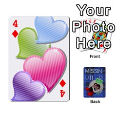 Tzip Cards By Esti Kaufman   Playing Cards 54 Designs   Qovyzxgs84og   Www Artscow Com Front - Diamond4