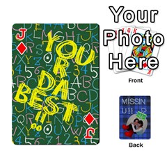 Jack Tzip Cards By Esti Kaufman   Playing Cards 54 Designs   Qovyzxgs84og   Www Artscow Com Front - DiamondJ