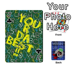 Jack Tzip Cards By Esti Kaufman   Playing Cards 54 Designs   Qovyzxgs84og   Www Artscow Com Front - ClubJ