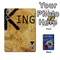 King Tzip Cards By Esti Kaufman   Playing Cards 54 Designs   Qovyzxgs84og   Www Artscow Com Front - ClubK