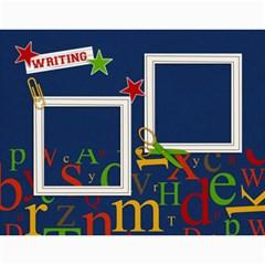 Calendar: Back To School (any Year) By Jennyl   Wall Calendar 11  X 8 5  (12 Months)   Rimrk82719am   Www Artscow Com Month