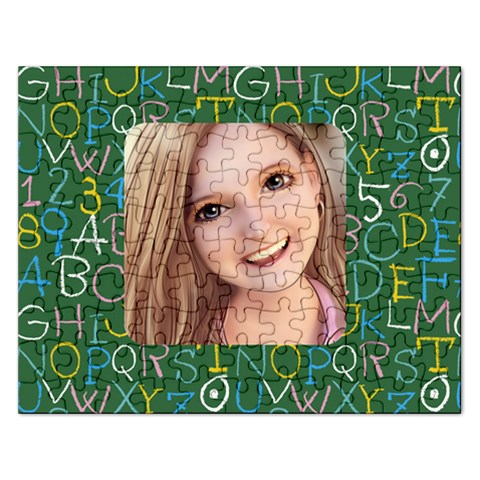 School Puzzle By Sarah   Jigsaw Puzzle (rectangular)   2brgxp97n8vy   Www Artscow Com Front