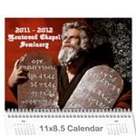 Seminary Calendar - Wall Calendar 11  x 8.5  (12-Months)