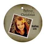 Hallee - Ornament (Round)