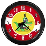 Gummy Clock - Wall Clock (Black)