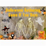 Halloween Party Invitation 4 - 5  x 7  Photo Cards