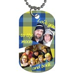 cjs - Dog Tag (One Side)