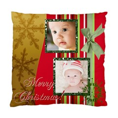 Merry Christmas 1 By Joely   Standard Cushion Case (two Sides)   Vqm89s36m6ub   Www Artscow Com Front
