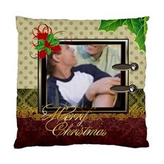 Merry Christmas 1 By Joely   Standard Cushion Case (two Sides)   Nwr1duq9gug9   Www Artscow Com Front
