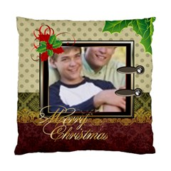 Merry Christmas 1 By Joely   Standard Cushion Case (two Sides)   Nwr1duq9gug9   Www Artscow Com Back