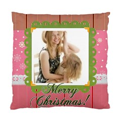 Merry Christmas 1 By Joely   Standard Cushion Case (two Sides)   Y7omeasimdy3   Www Artscow Com Back