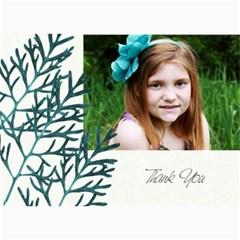 5x7 Thank You Card By Lana Laflen   5  X 7  Photo Cards   Rdwqfhf5x4lw   Www Artscow Com 7 x5 Photo Card - 3