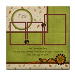 Everlasting Autumn Tile - Tile Coaster