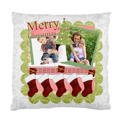 Merry Christmas By Joely   Standard Cushion Case (two Sides)   1oqmckmgx61o   Www Artscow Com Front