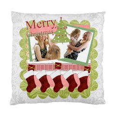 Merry Christmas By Joely   Standard Cushion Case (two Sides)   1oqmckmgx61o   Www Artscow Com Back