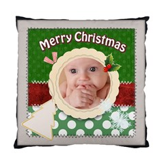 Merry Christmas By Joely   Standard Cushion Case (two Sides)   Xn3uxq3nda8t   Www Artscow Com Front