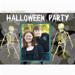 halloween invitation 6 - 5  x 7  Photo Cards