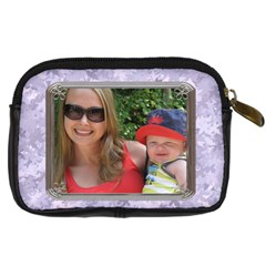 Mommy Loves Me Digital Leather Camera Case By Lil    Digital Camera Leather Case   9gja3tt5omih   Www Artscow Com Back