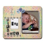 1st Birthday Large Mousepad