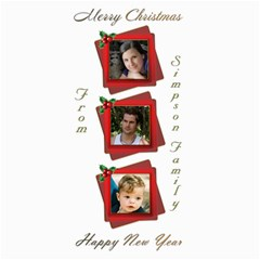 Christmas New Year 4x8 Photo Card By Deborah   4  X 8  Photo Cards   95ictathn74n   Www Artscow Com 8 x4 Photo Card - 8