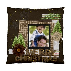 Merry Christmas By Joely   Standard Cushion Case (two Sides)   T2gy7wvribj6   Www Artscow Com Front