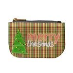 christmas mini coin purse