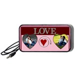 Love Portable Speaker - Portable Speaker (Black)