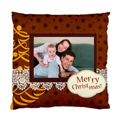 Merry Christmas By Joely   Standard Cushion Case (two Sides)   Yp2ajo0uydz9   Www Artscow Com Back