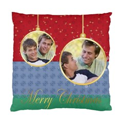 Merry Christmas By Joely   Standard Cushion Case (two Sides)   Tnjsq7prjxm0   Www Artscow Com Front