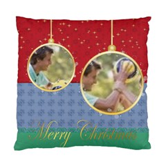 Merry Christmas By Joely   Standard Cushion Case (two Sides)   Tnjsq7prjxm0   Www Artscow Com Back