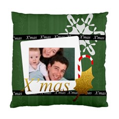 Merry Christmas By Joely   Standard Cushion Case (two Sides)   Pkay8uo022zo   Www Artscow Com Front